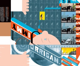 Chris Ware - Jimmy Corrigan   Cover: Reprodukt