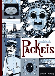 Simon Schwartz - Packeis   Cover: avant