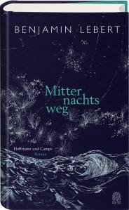 Benjamin Lebert - Mitternachstweg   Cover: Hoffmann und Campe