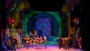 """West Side Story"" an den Wuppertaler Bühnen Foto: Uwe Stratmann"